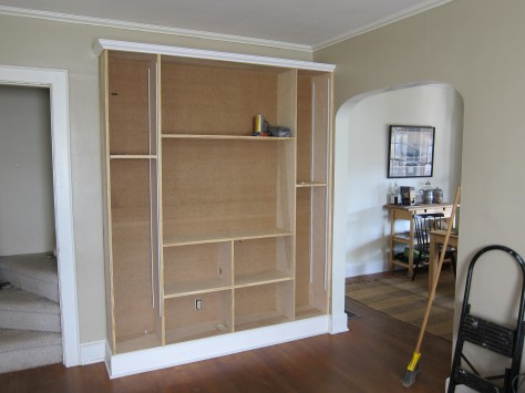 Pdf How To Build A Wall Unit With Shelves Plans Diy Free