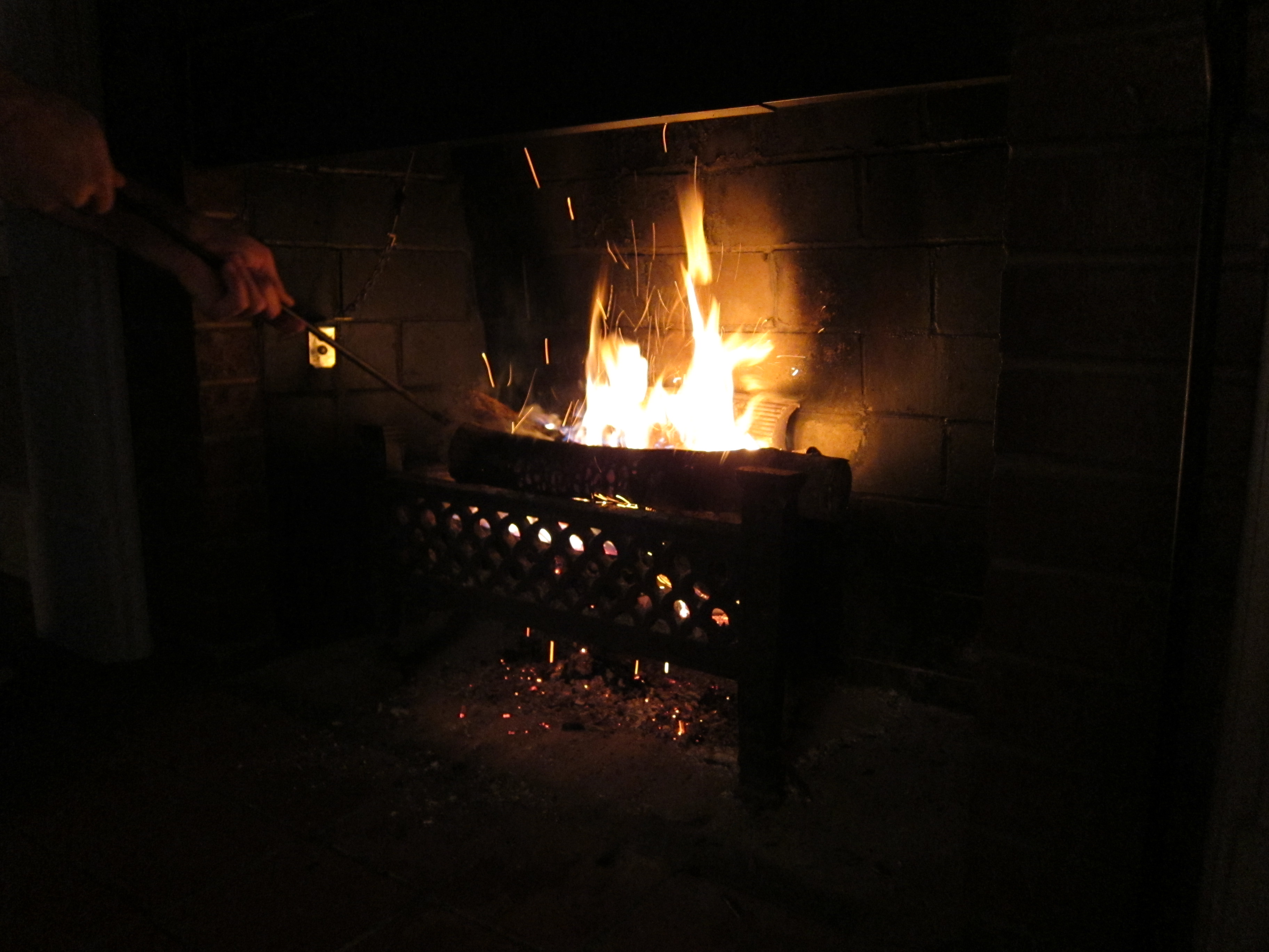 how to get fireplace smoke smell out of room