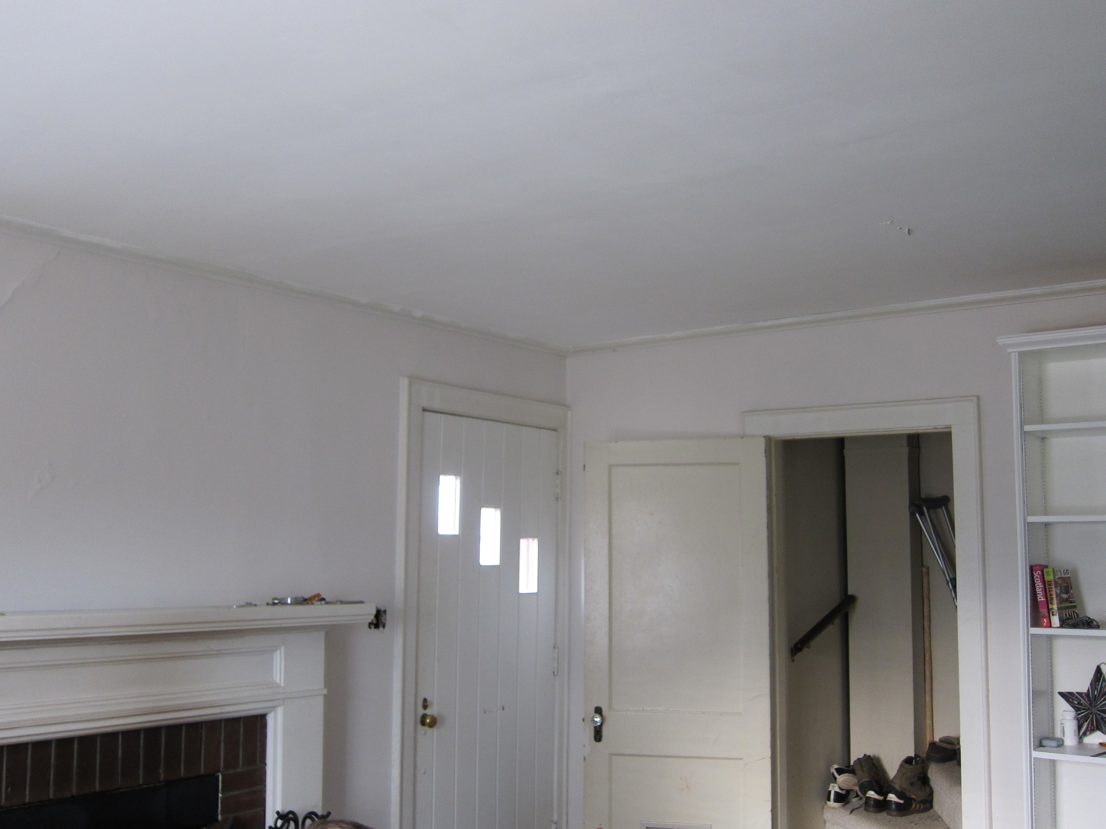 painting the fireplace mantel escape from bk