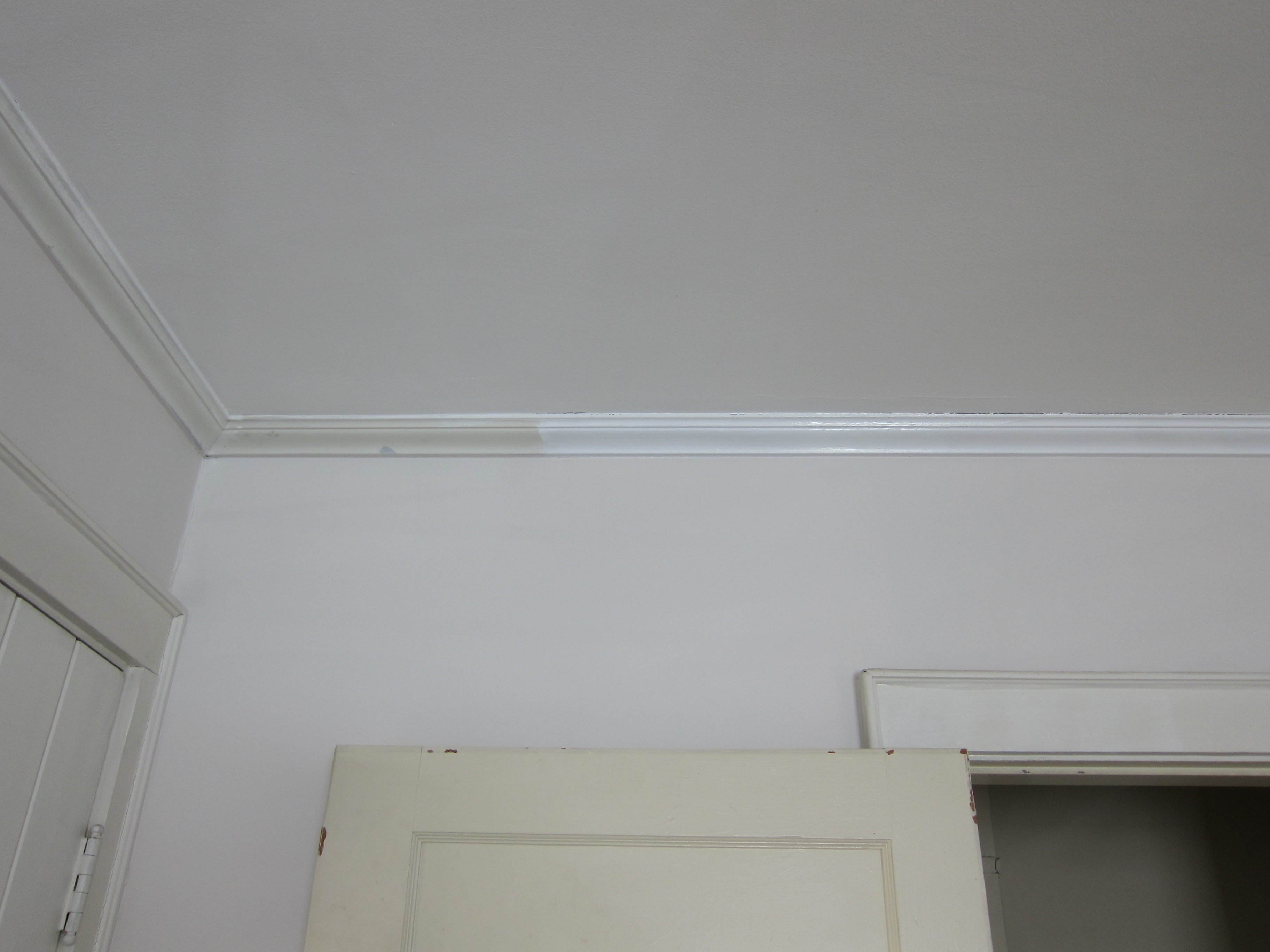 Crown Molding, Painted