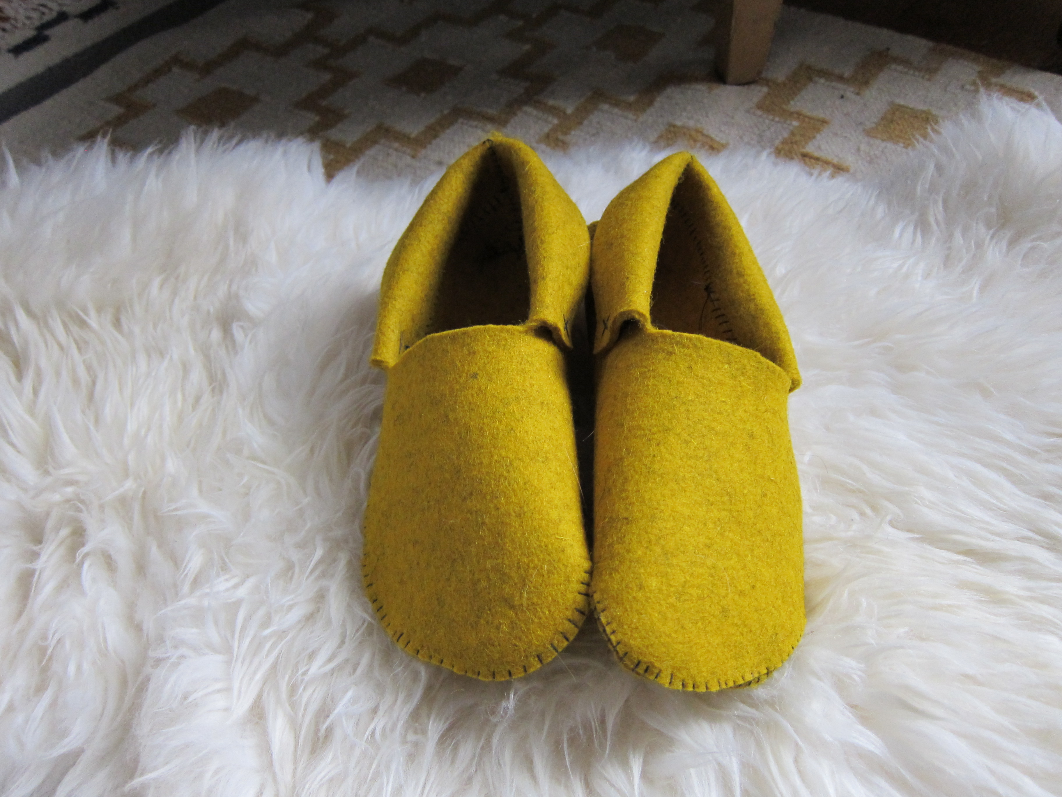 Sewn Felt Slippers Escape From Bk