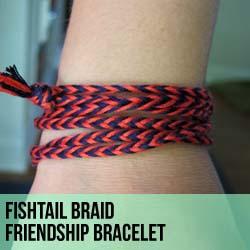 Fishtail Braid Friendship Bracelets