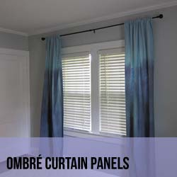 Ombre Curtain Panels
