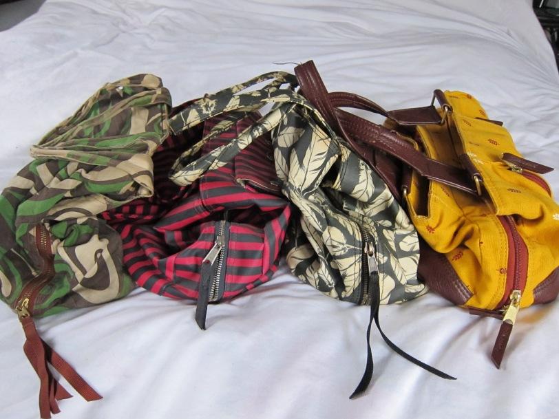 old BI bags