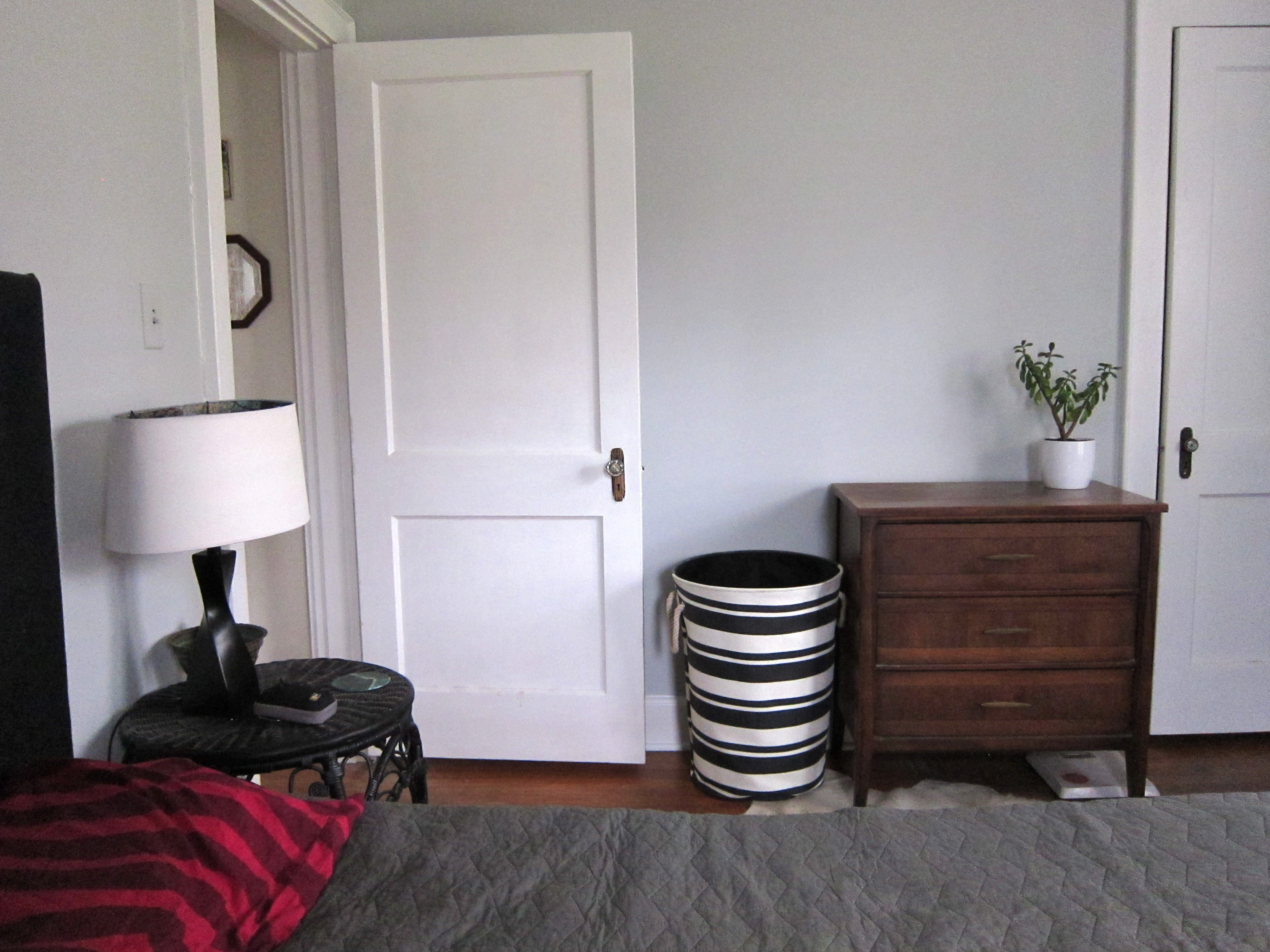 black and white laundry basket. Bedroom Updates   escape from bk